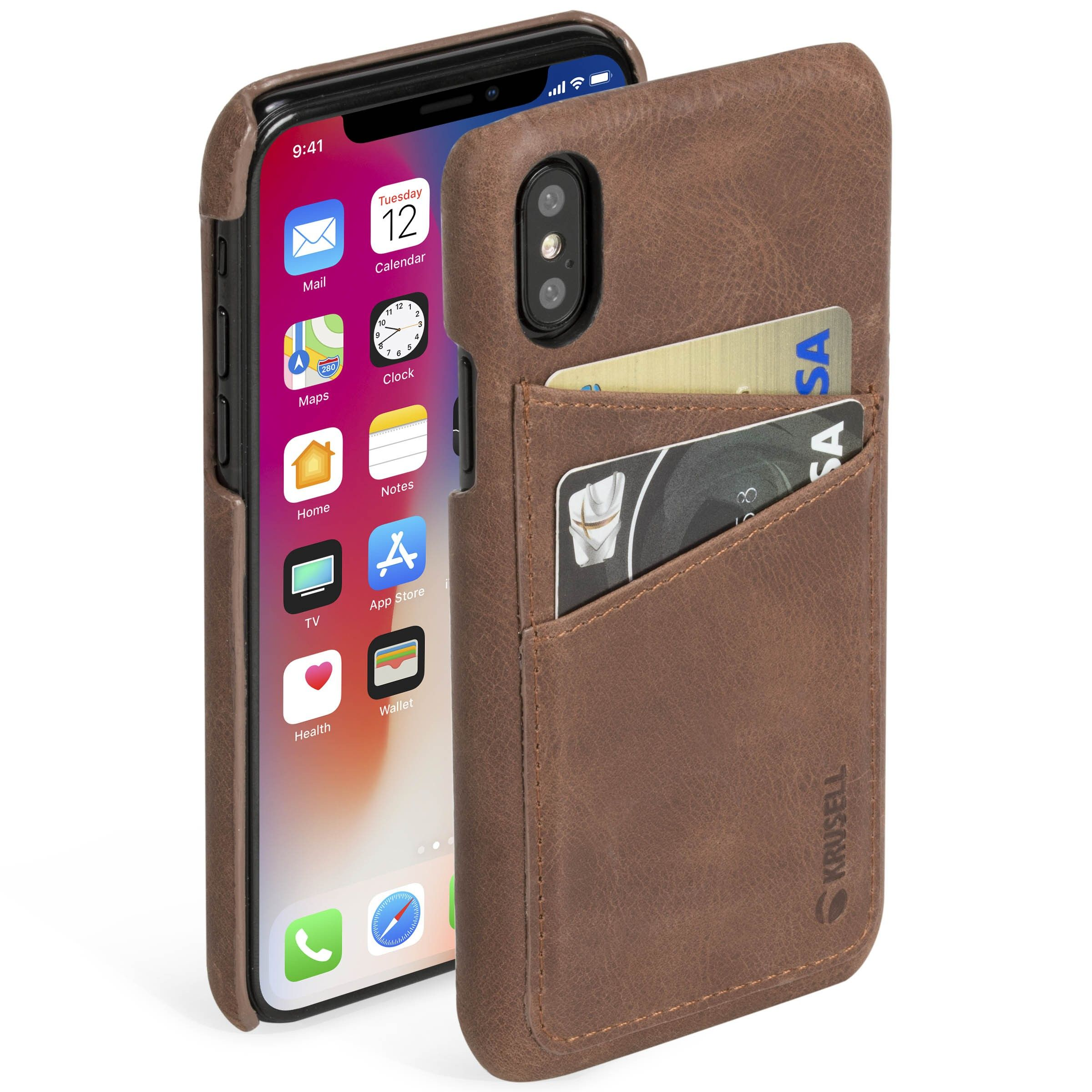 Krusell Sunne 2 Card Cover (iPhone X/Xs)