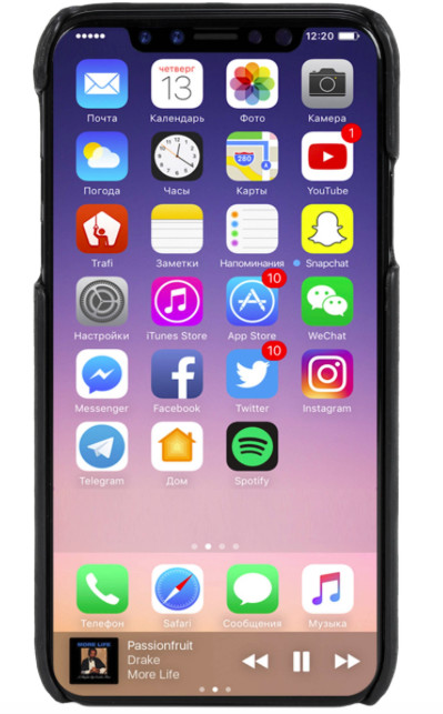 Krusell Sunne Cover (iPhone X/Xs)
