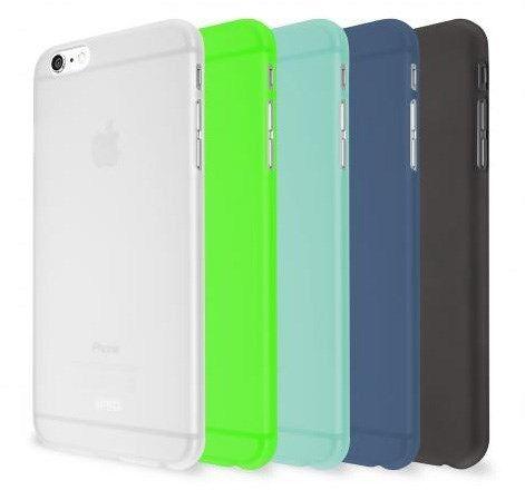 Artwizz Rubber Clip (iPhone 6/6S) - Svart