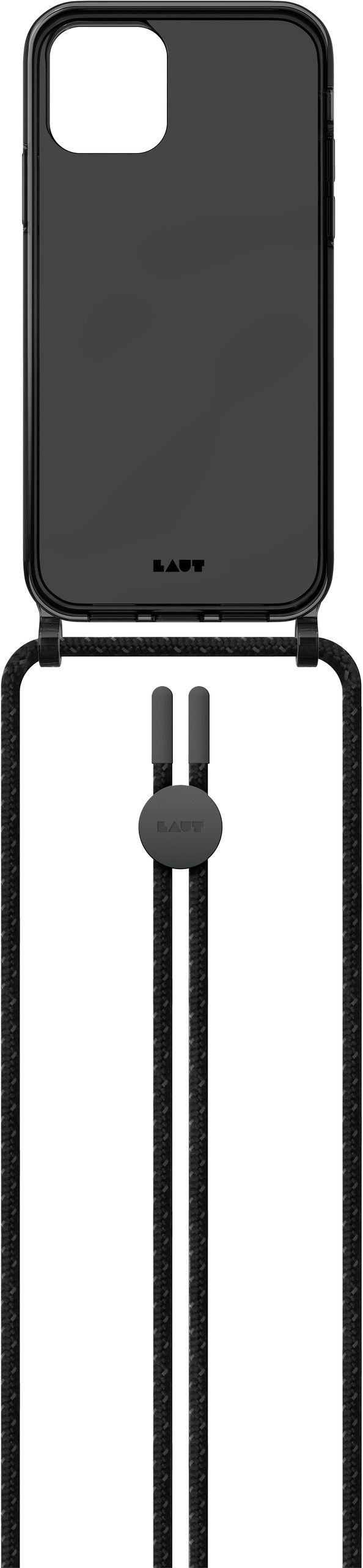Laut Crystal-X Necklace (iPhone 12/12 Pro) - Svart