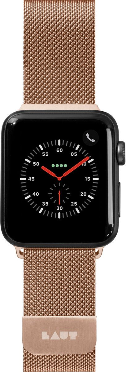 Laut Steel Loop Strap (Apple Watch 38/40 mm) - Guld