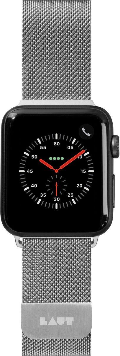 Laut Steel Loop Strap (Apple Watch 42/44 mm) - Silver