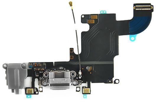 lightningport med flexkabel iphone 6s gr iphonen. Black Bedroom Furniture Sets. Home Design Ideas