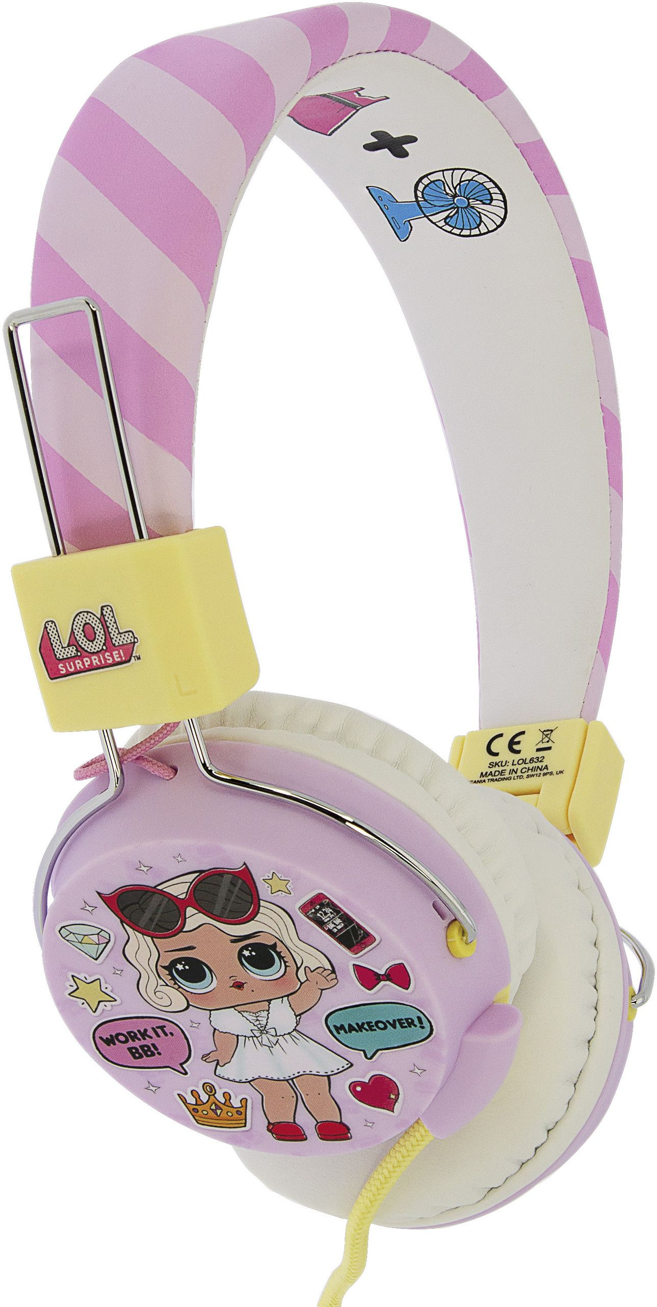 L.O.L. Surprise! Glam Folding Headphones