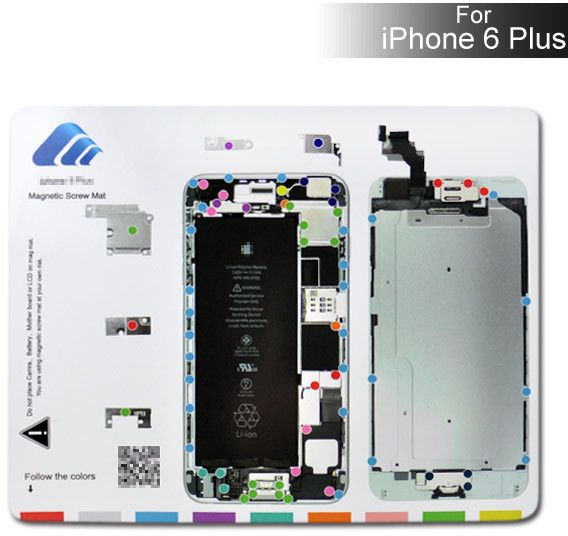 Magnet Screw Mat (iPhone 6 Plus)