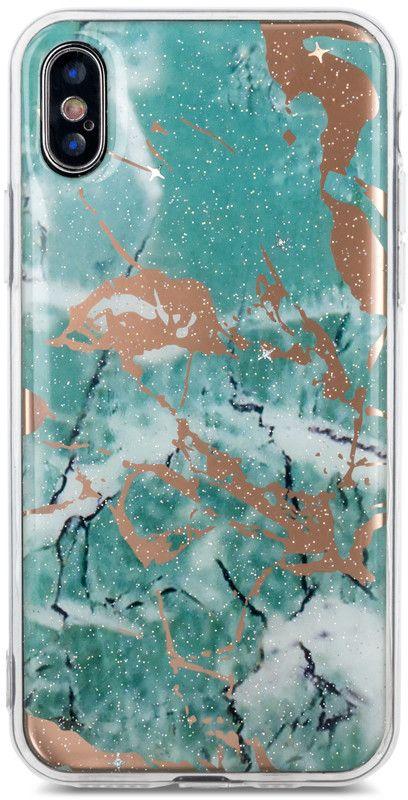 Marmur Marble Case (iPhone Xs Max) - Svart