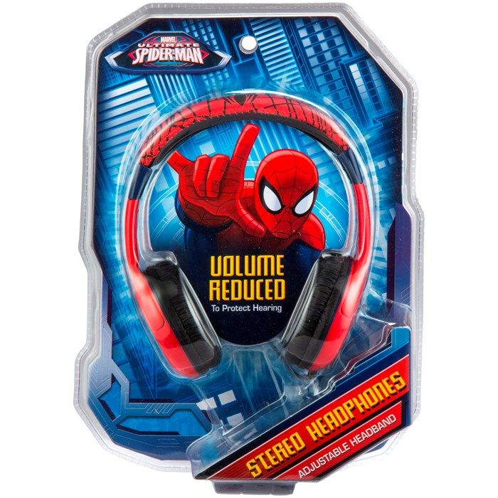 Marvel Volume Limited Headphones Spiderman