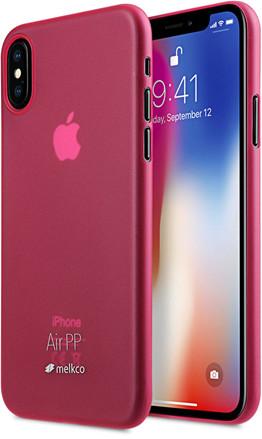 Melkco Air PP Case (iPhone X/Xs) - Svart