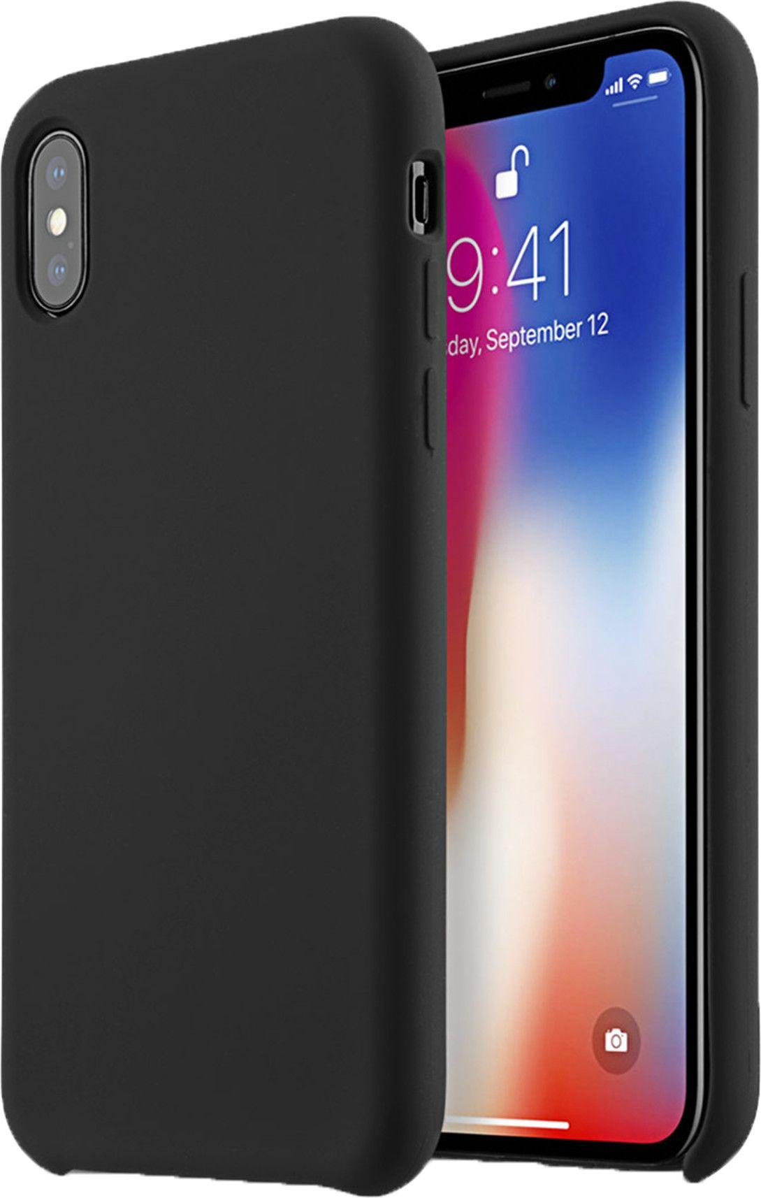 Melkco Aqua Silicone Case (iPhone X/Xs) - Grå