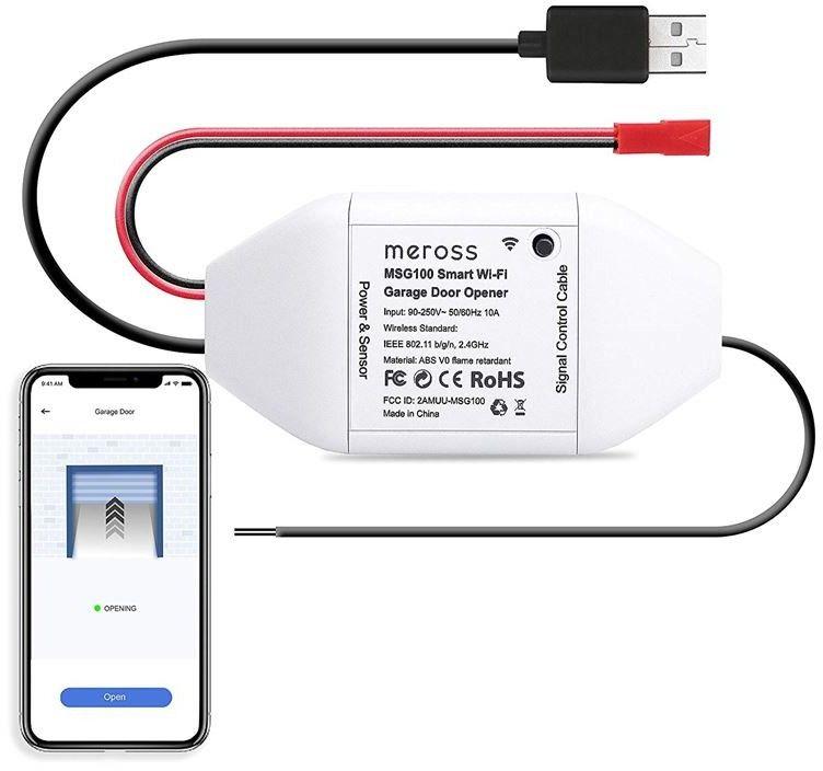 Meross Smart WiFi Garage Door Opener