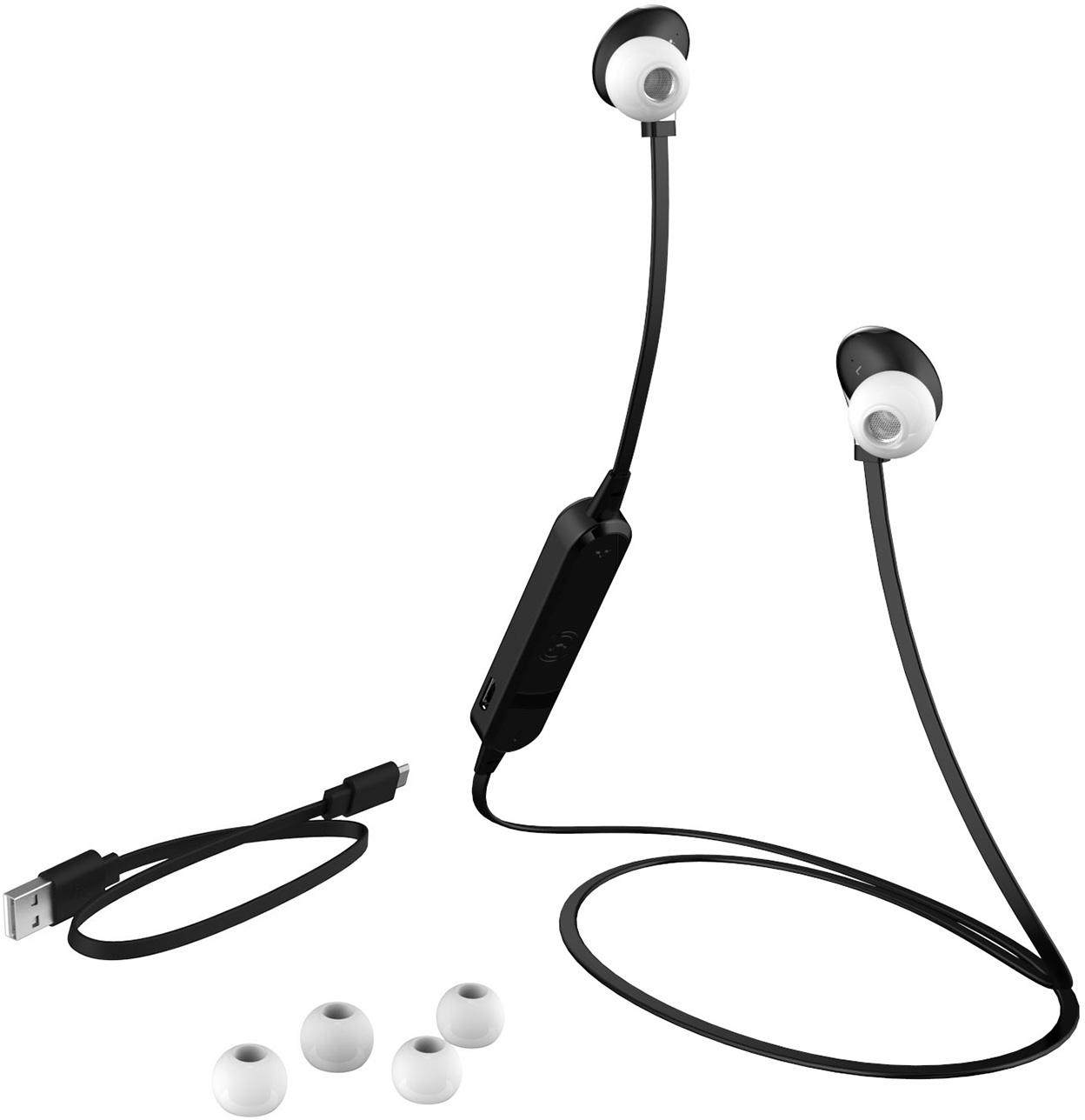 Merskal Bluetooth In Ear Headset – Vit