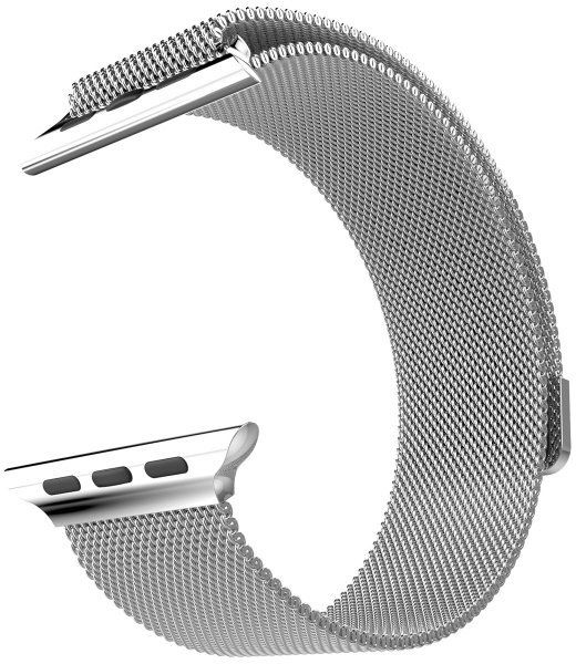 Hoco Milanese Steel (Apple Watch 42 mm) – Svart