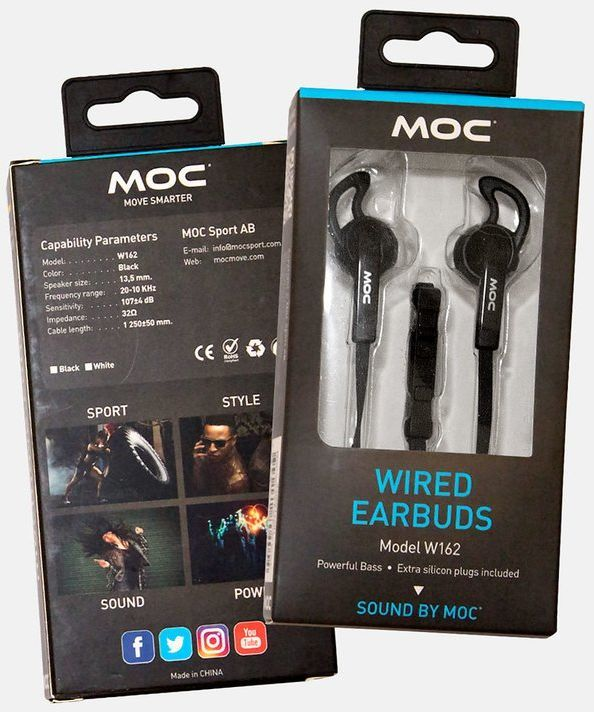 MOC W162 Wired Earbuds