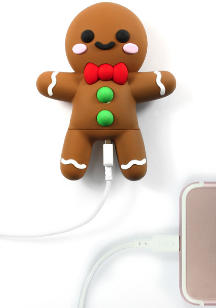 Mojipower Power Bank Gingerbread 2600mAh