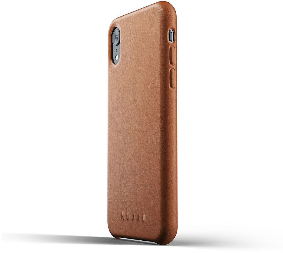 Mujjo Full Leather Case (iPhone Xr) - Brun