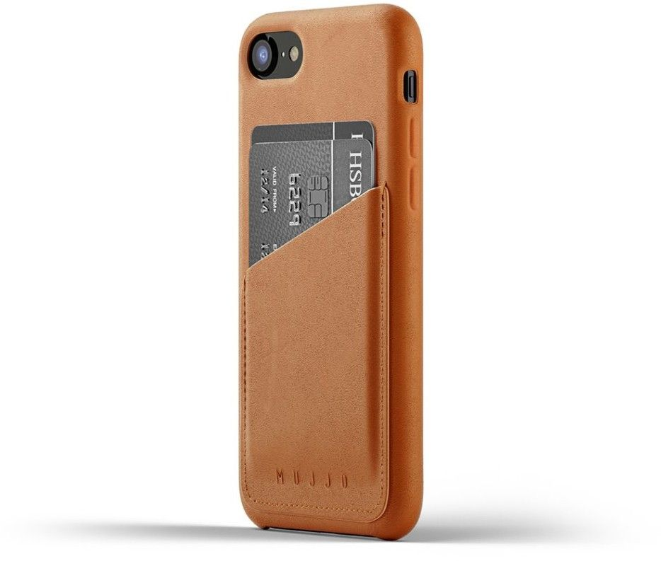 Mujjo Full Leather Wallet Case (iPhone 8/7)