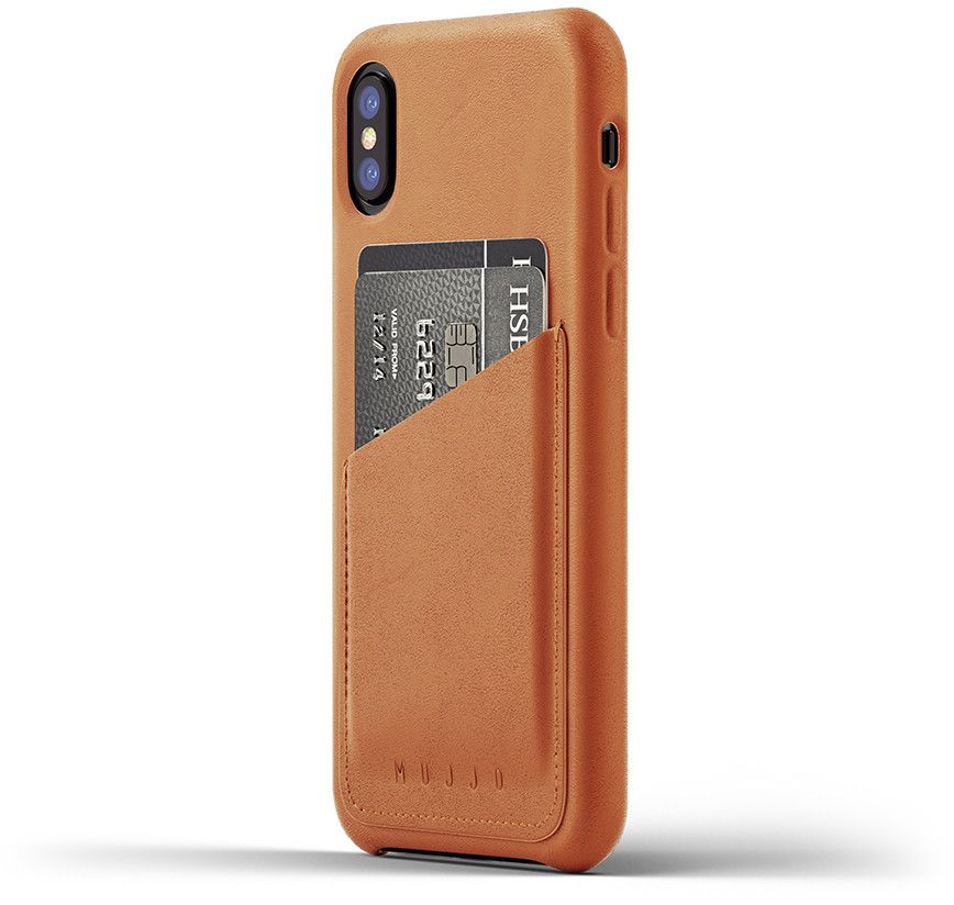 Mujjo Leather Wallet Case (iPhone X/Xs)