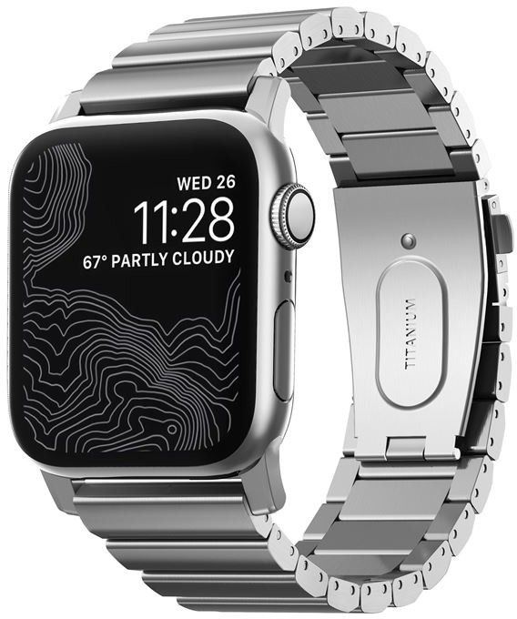 Nomad Titanium Band (Watch 44/42mm) - Silver