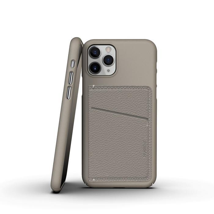 Nudient Magnet Wallet for Thin Case V3 - Beige