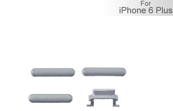 Knappsats (iPhone 6 Plus) - Grå