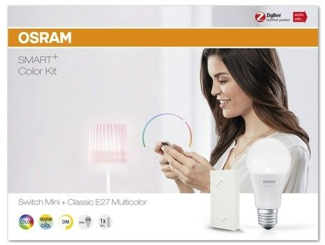 Osram Smart+ Kit: Switch Mini + Classic E27 - Dimming Kit