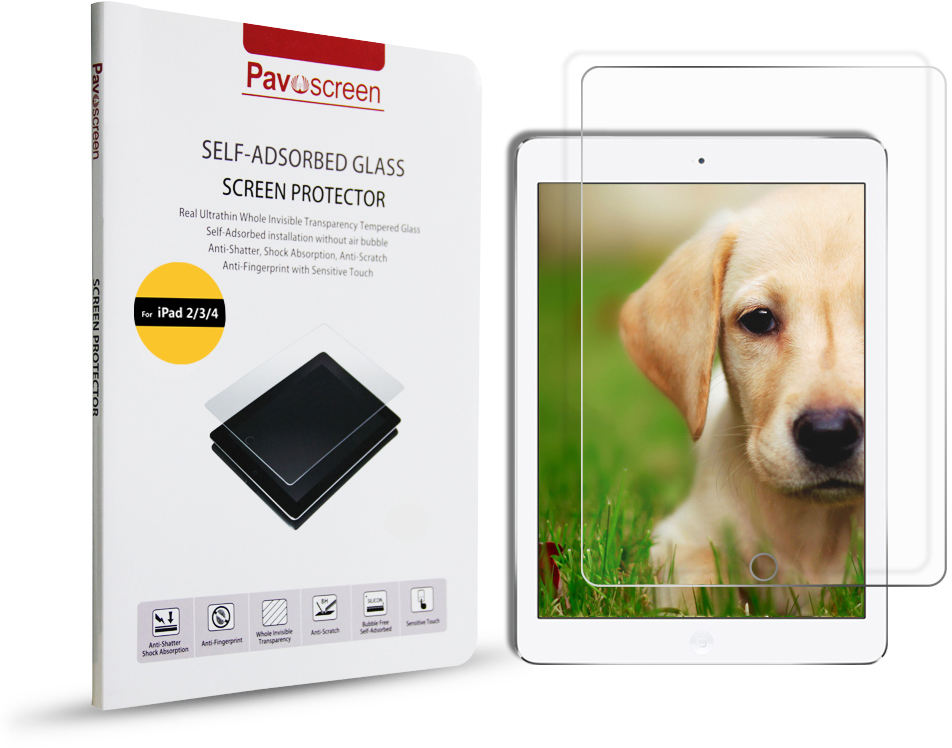 Pavoscreen Glass Protector (iPad 4/3/2)