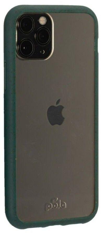 Pela Clear Eco-Friendly Case (iPhone 11 Pro) - Grön
