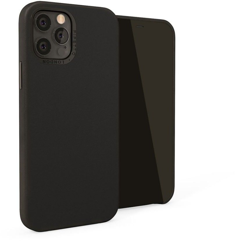 Pipetto Magnetic Leather Case (iPhone 12 Pro Max) - Brun