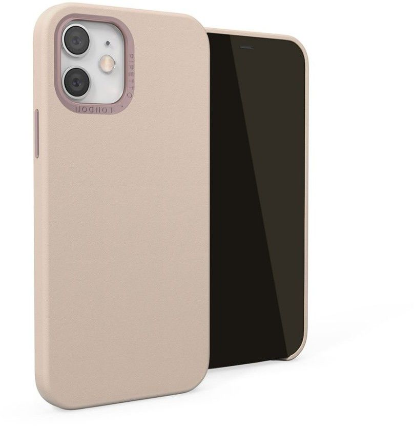 Pipetto Magnetic Leather Case (iPhone 12/12 Pro) - Brun