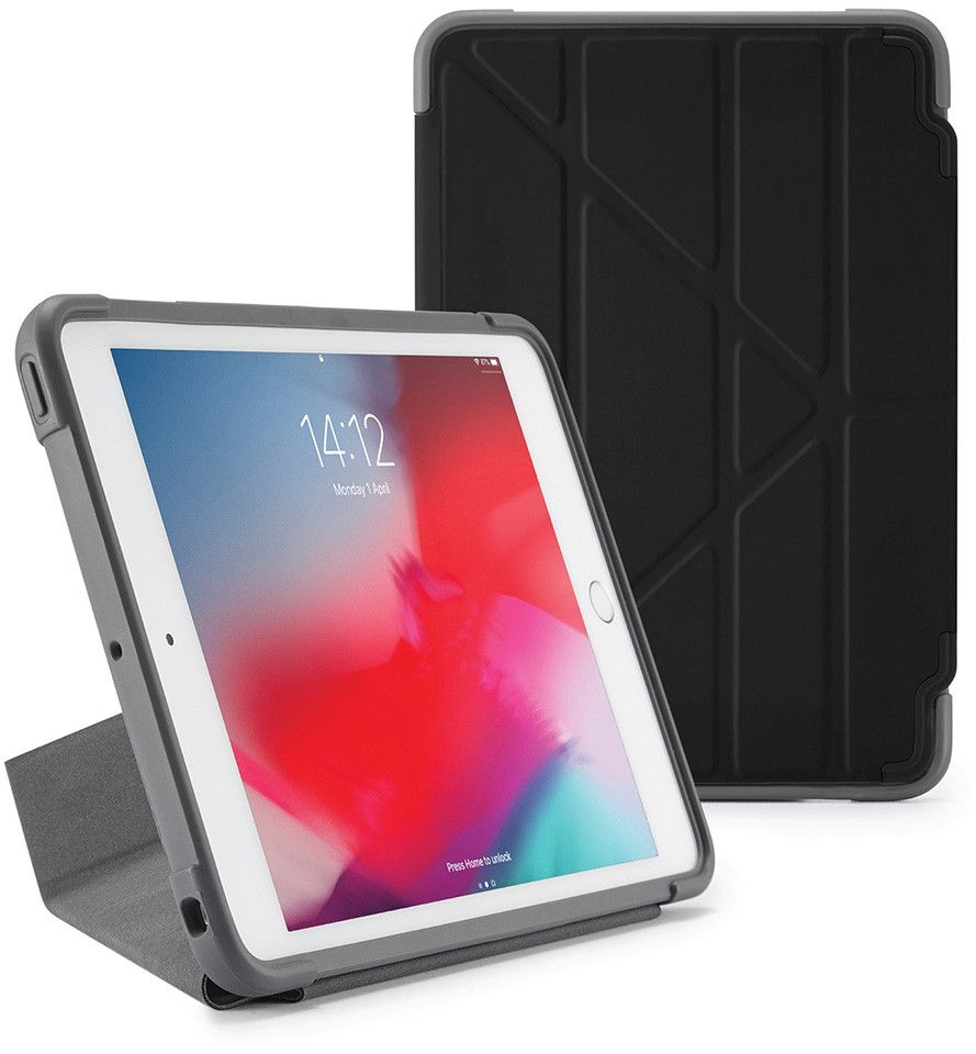 Pipetto Origami Shield (iPad mini 5) - Blå