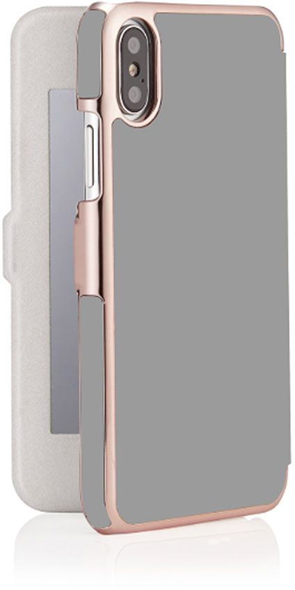 Plånboksfodral - iPhone X Xs - Pipetto Slim Wallet Mirror ... a2d5c1886542a