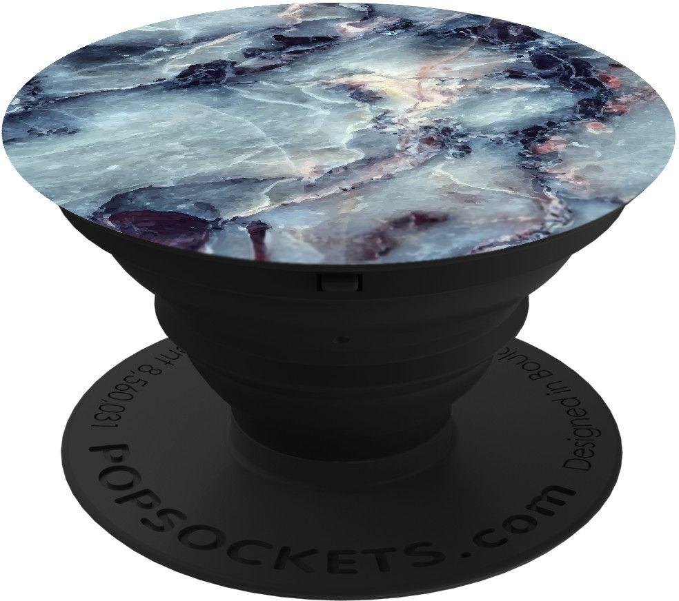 PopSockets Marble - Blå/svart