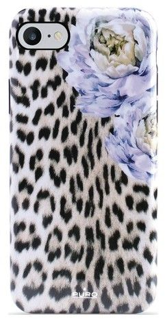 Puro Cover Sweet Leopard Peonies (iPhone SE2/8/7/6/6S)