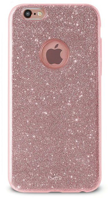 Puro Glitter Cover (iPhone 7) - rosa