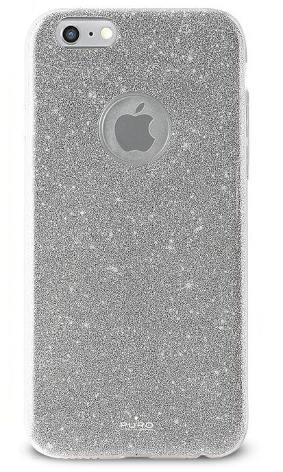 Puro Glitter Cover (iPhone 7) - silver