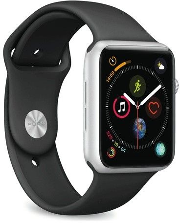 Puro Icon Apple Watch Band (Watch 42/44 mm) - Duvblå