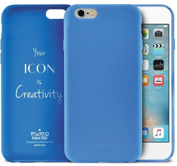Puro Icon Cover (iPhone 6/6S) – Gul