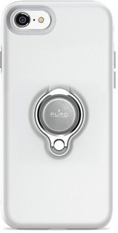 Puro Magnet Ring Cover (iPhone SE2/8/7) - Svart
