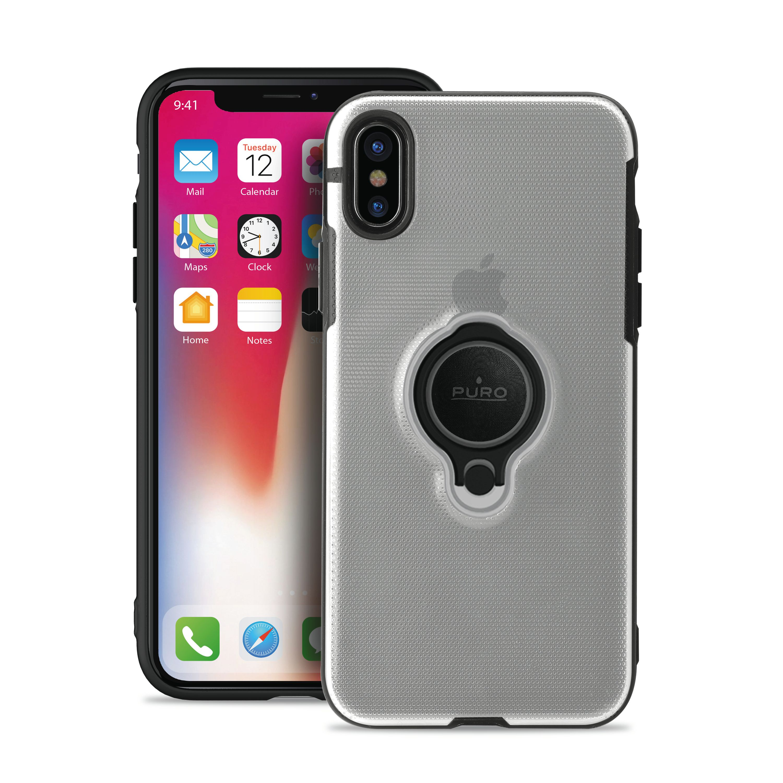 Puro Magnet Ring Cover - iPhone Xs Max - transparent skal ... 3f29e567cc455
