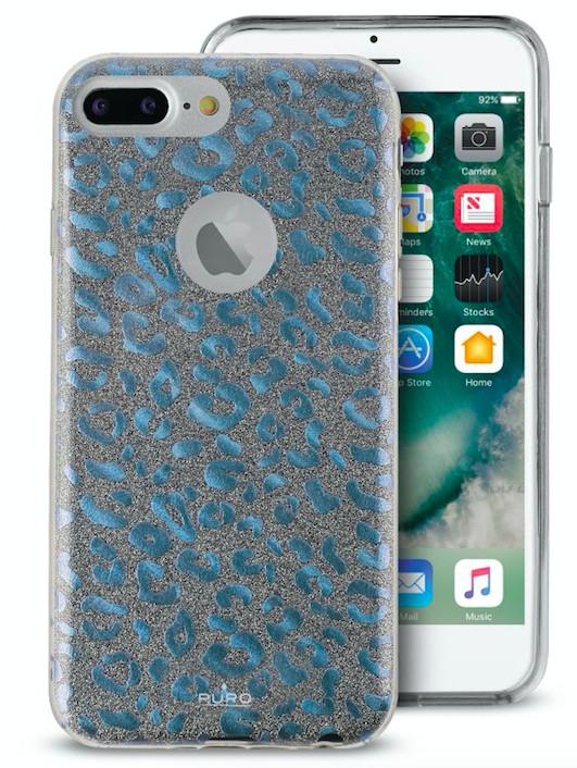 Puro Shine Leo Cover (iPhone 7/6(S) Plus) - Blå