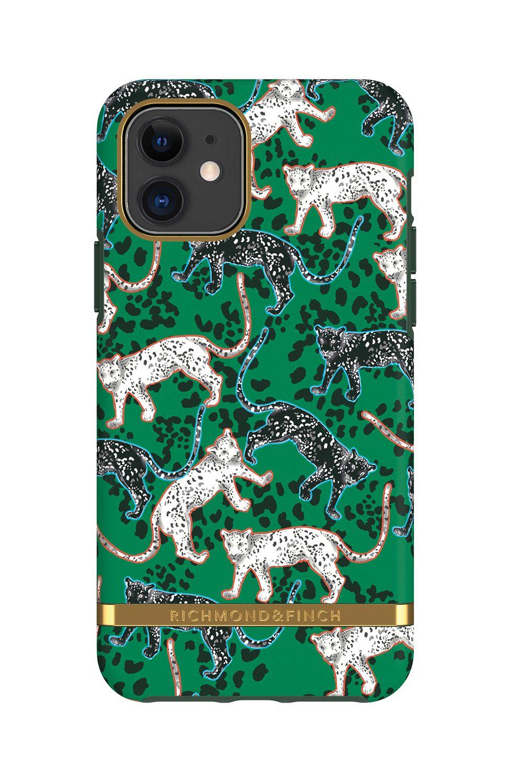 Richmond & Finch Green Leopard (iPhone 11 Pro)