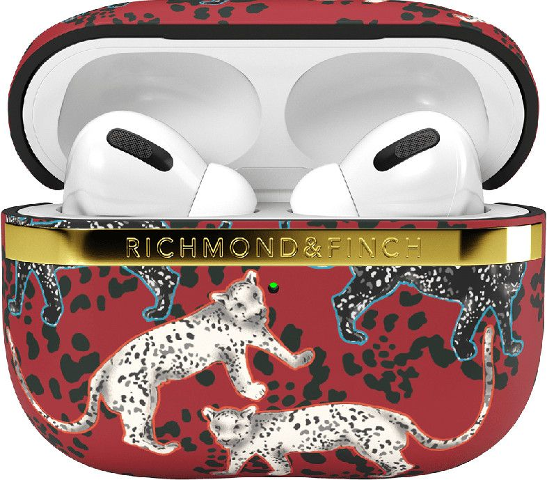 Richmond & Finch Samba Red Leopard (AirPods Pro)