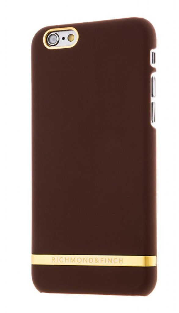 Richmond & Finch Satin Case (iPhone 6/6S) – Brun