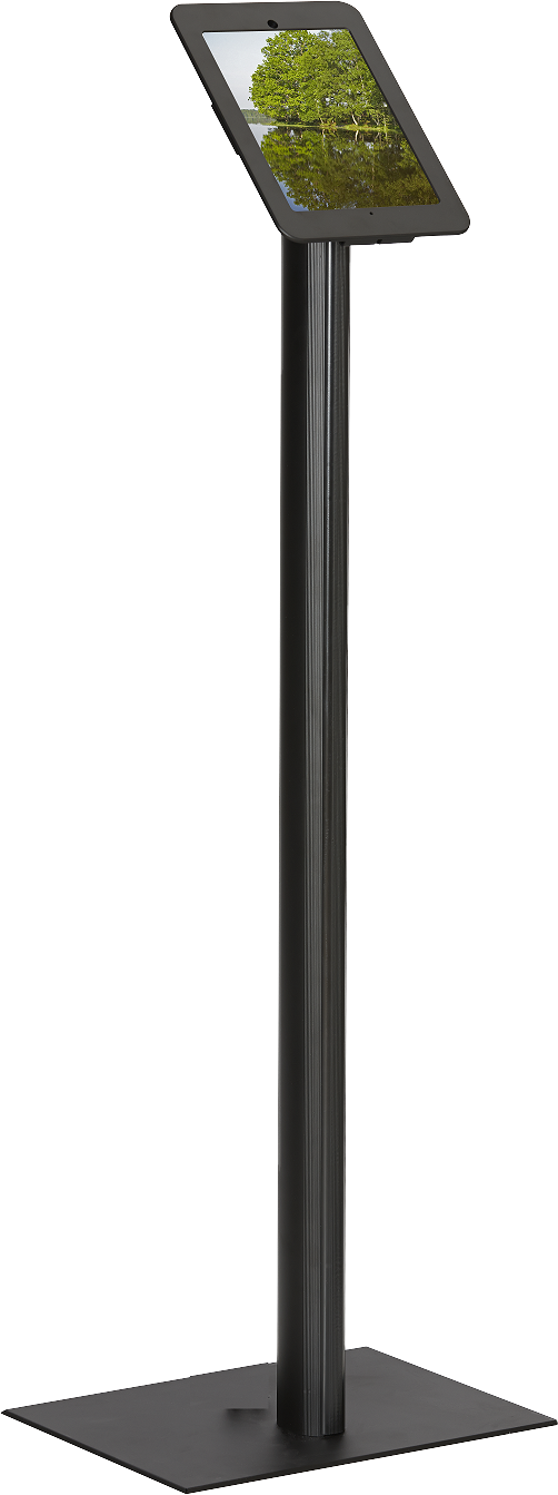 Safeware Frame med golvstativ (iPad) - Svart