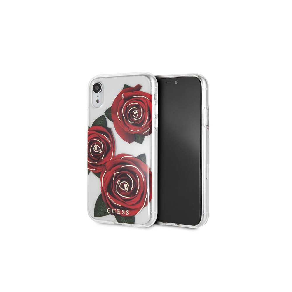 Guess Hard Case Rose (iPhone Xr)