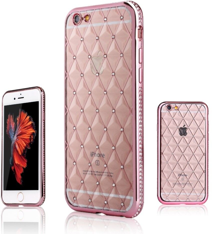 ShenGo Rhinestone Case (iPhone 6(S) Plus) – Rosa