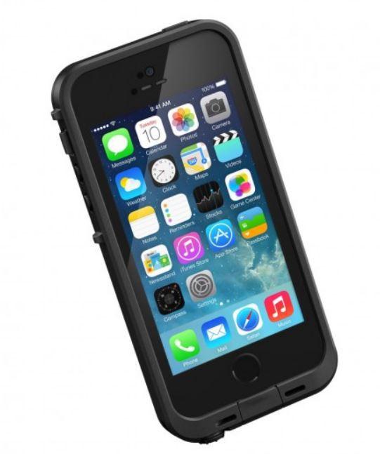LifeProof Fre Case (iPhone 5/5S/SE) – Svart