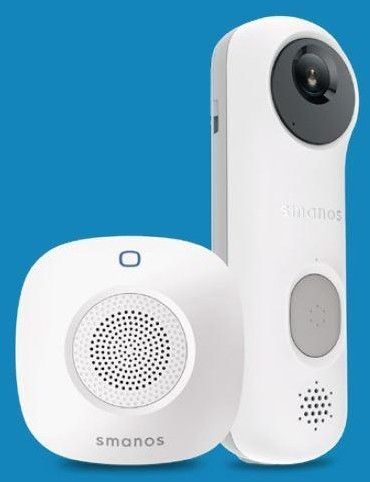 Smanos Smart Video Doorbell + Chime Kit