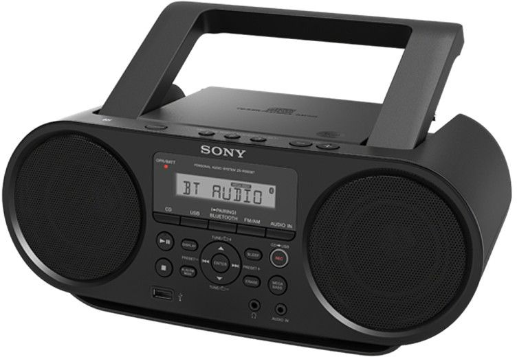 Sony ZSRS60BT CD-Boombox Bluetooth