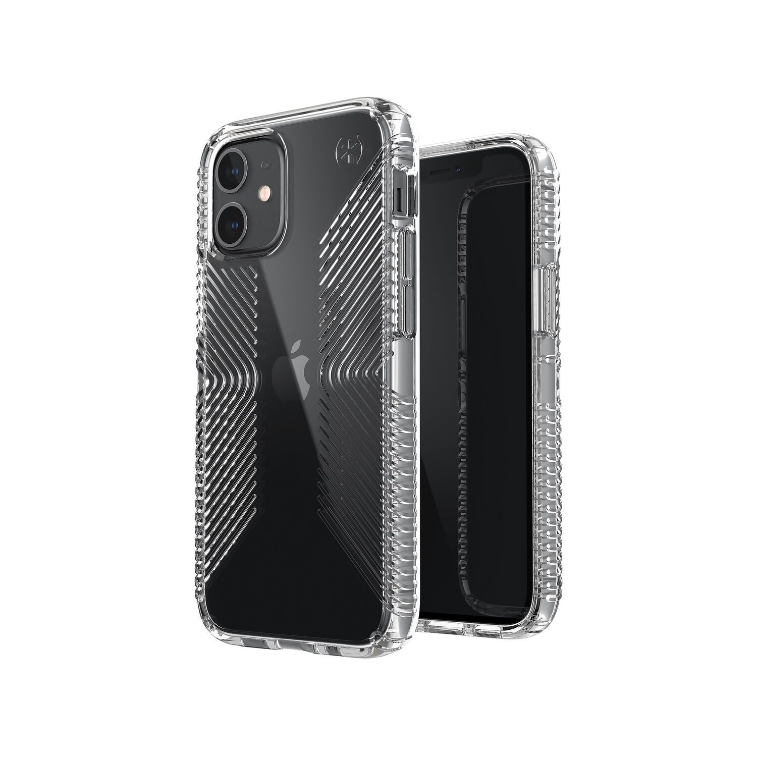 Speck Presidio Perfect-Clear with Grips (iPhone 12 mini)